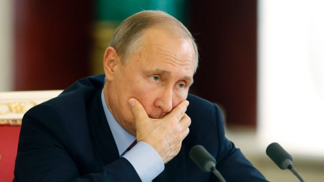 Russian President Vladimir Putin attends a signing ceremony with Brazilian President Michel Temer last week, after they ...