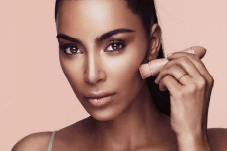 Kim Kardashian's contouring kit from her new beauty line sold out in three minutes.