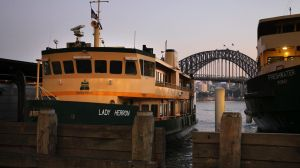 The Lady Herron is one of the two last Lady-class ferries in Sydney.