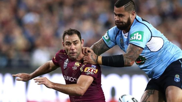Sore: Cameron Smith won't be playing for the Storm this weekend.