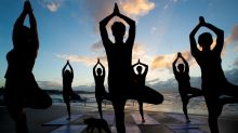 Yoga is the fastest-growing fitness activity in Australia.
