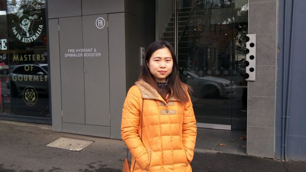 Lynn Li, 28, said she had not been told anything about the cladding on her building.