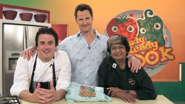 Simpson (left) found fame as a chef on TV show 'Ready Steady Cook'.