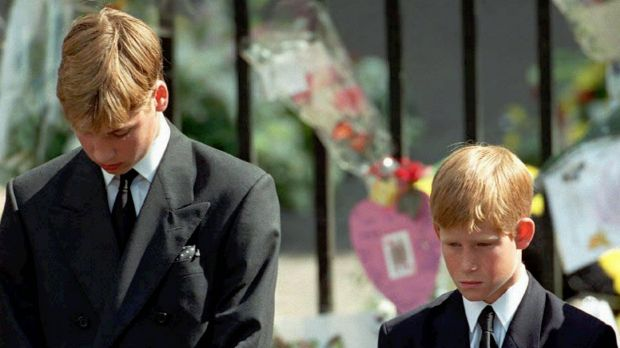 The princes said their mother's death was like an 'earthquake'.