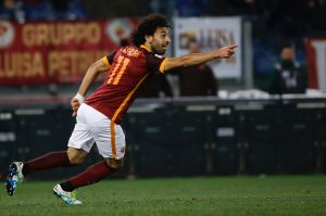 Salah has been a star for AS Roma in Italy's Serie A.