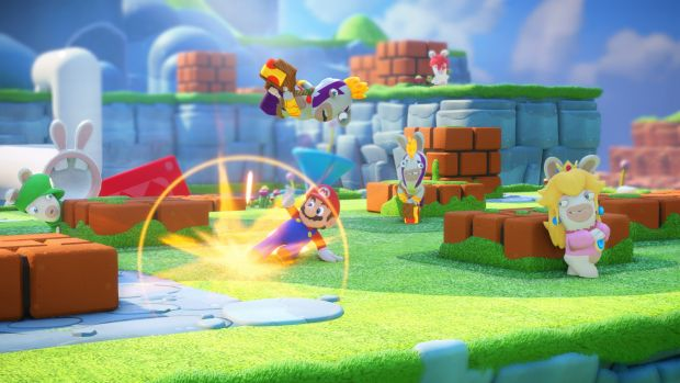 Pass through an enemy during your turn and you can inflict a bit of damage with a slide.