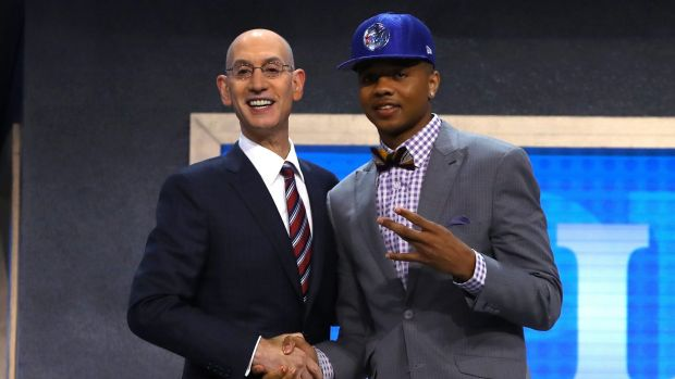76ers take Fultz, Lakers grab Ball to start National Basketball Association draft