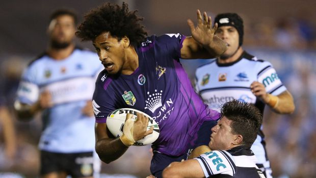 Rise to prominence: Felise Kaufusi is enjoying a breakout season at the Storm.
