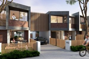 """Sydney's Platform Architects won the terrace houses category in the national design competition """"The Missing Middle""""."""
