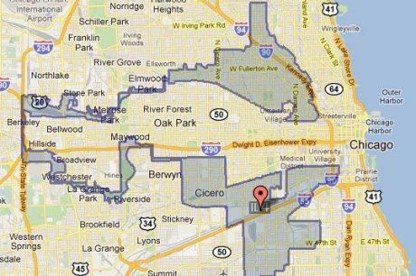 """The Latin earmuffs"": Illinois' 4th congressional district."