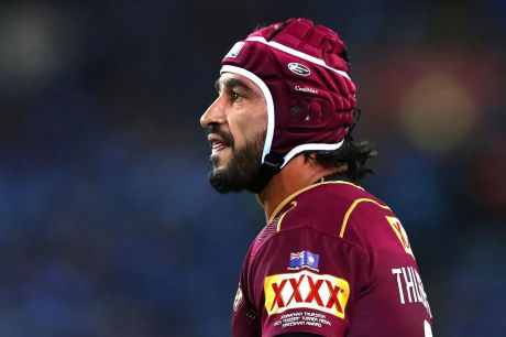 """I wanted to finish on a high this year with representative football, but it's not to be"": Johnathan Thurston."