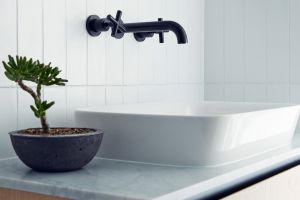 Trending: Subway tiles are on course for world bathroom domination.