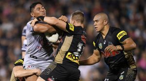 Handful: Jason Taumalolo is one of the game's best forwards.