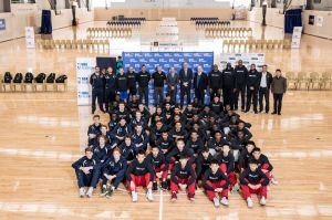 The NBA and Basketball Australia launched the new NBA Global Academy at the AIS in Canberra on Friday. Picture: NBA Asia