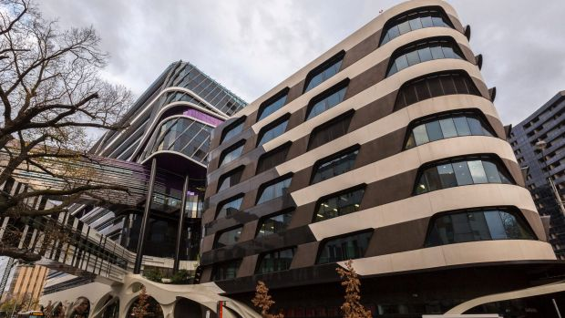 There are concerns about the cladding on the Victorian Comprehensive Cancer Centre.