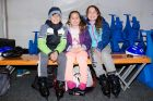 Jacob Holley, 9, Ava, 7, and Imogen, 11, of Isaacs.