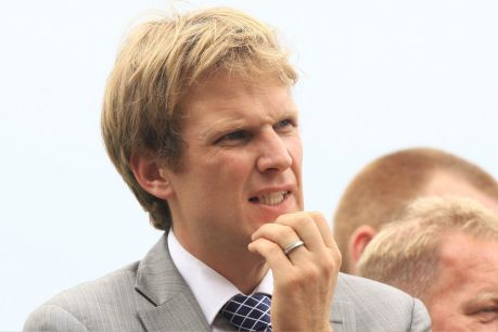 Bjorn Baker pictured at at Rosehill.