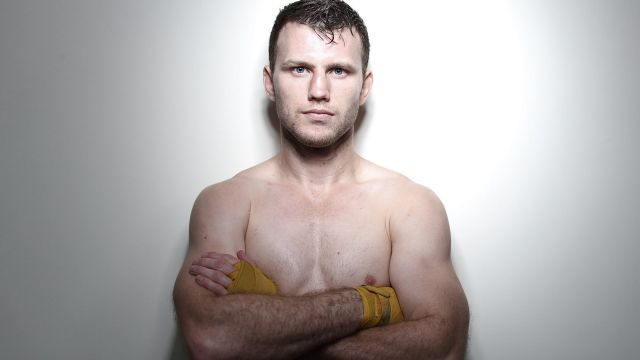 """Jeff Horn is sick of people telling him he is """"lucky""""."""