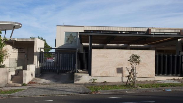 The South Head synagogue on Old South Head Road.