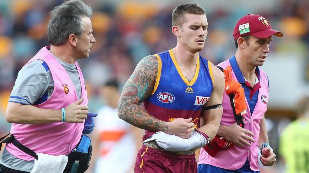 The Lions lost Dayne Beams early to a shoulder injury.