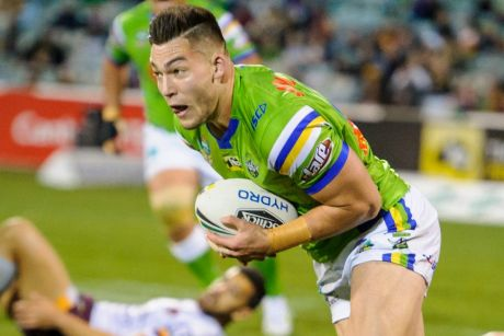 Penrith winger Dallin Watene-Zelezniak has named Raiders rookie Nick Cotric as one of the best players in the NRL.