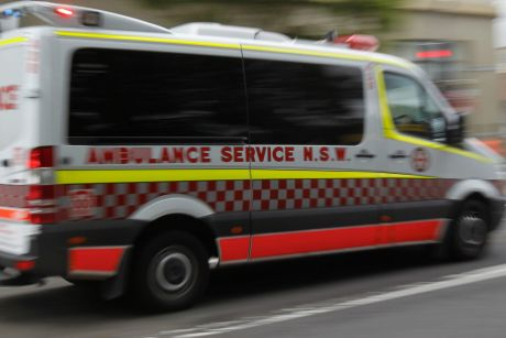 Paramedics were unable to save the man who  is believed to have fallen into the trench overnight.