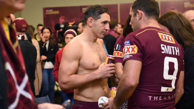 Billy Slater and Cameron Smith were two who didn't back up for the Storm after Origin II.