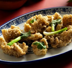 Salt and pepper squid.