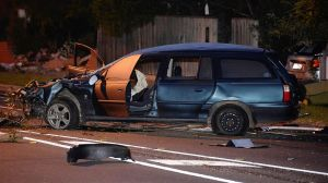 A man has died after being thrown from his car that crashed in Northcote.