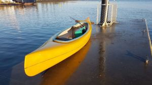Police are urging anyone who recognises the canoe to come forward.
