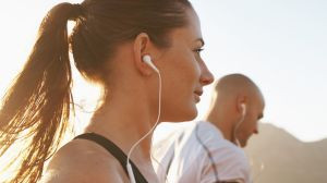 A good set of earphones can be just as helpful as quality sneakers.