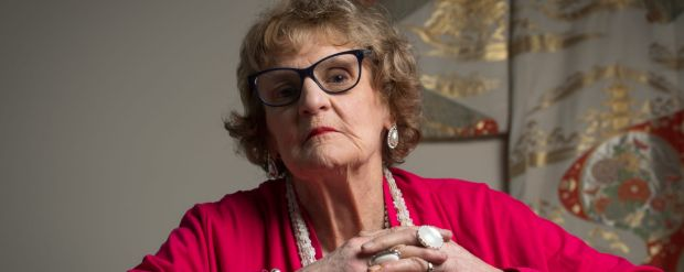 Gwyneth Jones has shared her experience of living in an retirement village with Adele Ferguson and Sarah DanckertPhoto: ...