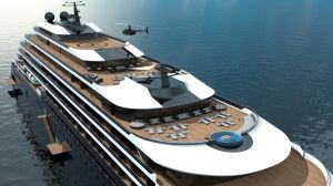 Ritz-Carlton's luxury cruise yacht designs.