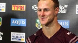 Daly Cherry Evans is a polished media performer.
