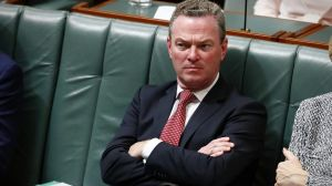 """It was like the straw that broke the camel's back,"" said one conservative of Mr Pyne's speech."