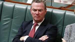 Chrisopher Pyne has sought to quell the anger in conservative ranks.