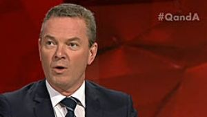 On Monday night's Q&A, Liberal minister Christopher Pyne was questioned on whether his taped conversation supporting ...