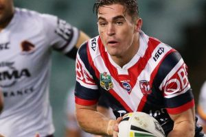 In demand: Connor Watson of the Roosters.