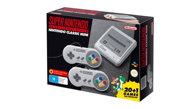 Amazon UK limits orders of more than one SNES mini