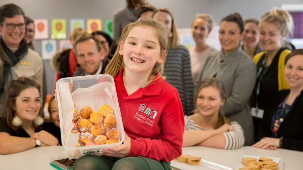 'Our little MasterChef': The nine year old who is the sweet talk of the staffroom