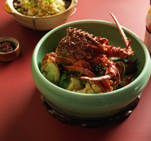 Lobster at Jade Temple.