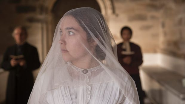 Florence Pugh, the heroine in Lady Macbeth, is married to a brutal landowner.