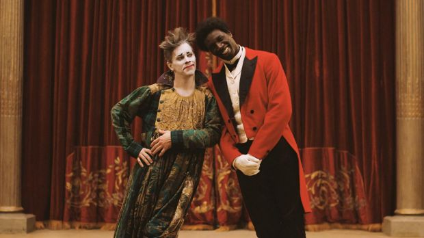 James Thierree and Omar Sy have huge fun as the clowning duo George Foottit and Chocolat.