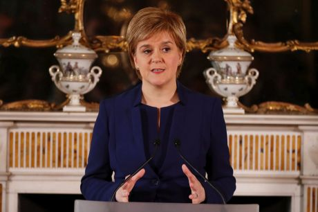 Nicola Sturgeon has back away from a swift second referendum.