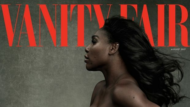 Serena Williams on the cover of August's Vanity Fair