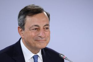 """""""As the economy continues to recover, a constant policy stance will become more accommodative,"""" Draghi said."""