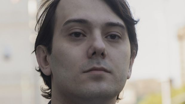 Martin Shkreli, former chief executive officer of Turing Pharmaceuticals AG, arrives at federal court in the Brooklyn ...