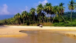Bureh Beach in Sierra Leone.