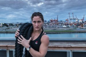 Deceptively strong: Tia-Clair Tooney.