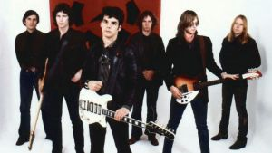 High flyers: Radio Birdman, the influential Sydney six-piece, before they fell to Earth.